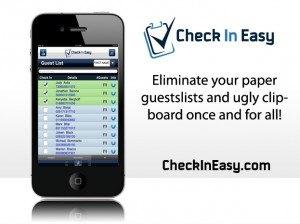 Check-in-Easy – app dla recepcji eventowych