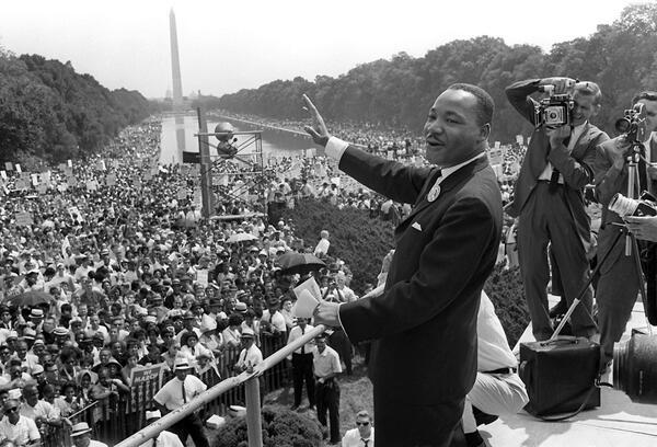 """""""I have a dream"""" Martin Luther King"""