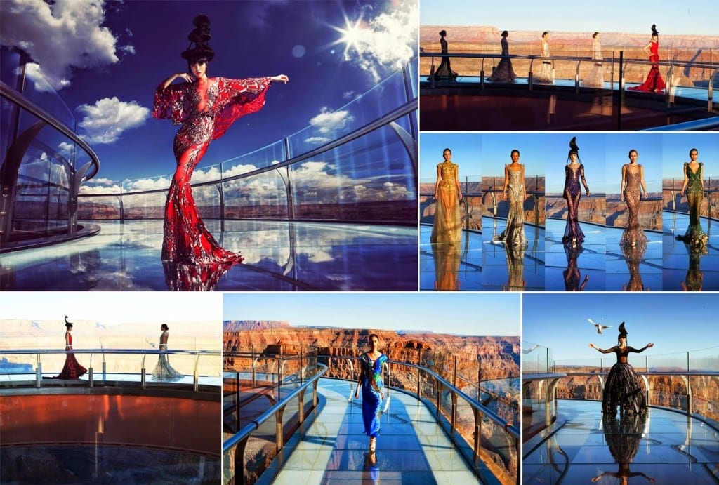 J Autumn Fashion Show on Grand Canyon Skywalk by Jessica Minh Anh (1)