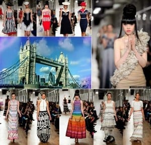 J Autumn Fashion Show on London Tower Bridge - Jessica Minh Anh