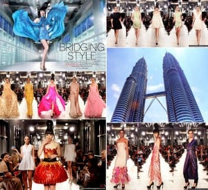 J Spring Fashion Show on PETRONAS Twin Towers Skybridge - Jessica Minh Anh