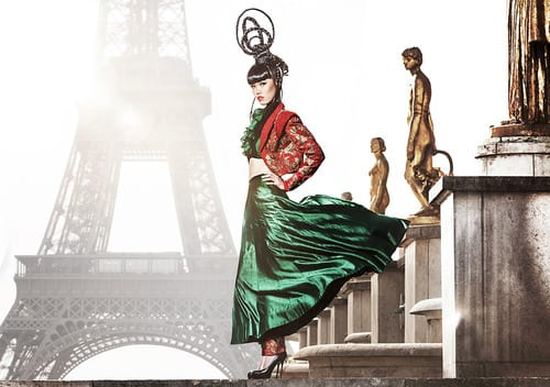 Osiągać niemożliwe – Jessica Minh Anh i jej pokaz mody