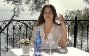 Zaangażowanie Moniki Bellucci do reklamy Cisowianki Perlage