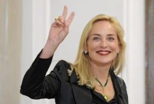Sharone Stone w wizycie polkim Parlamencie