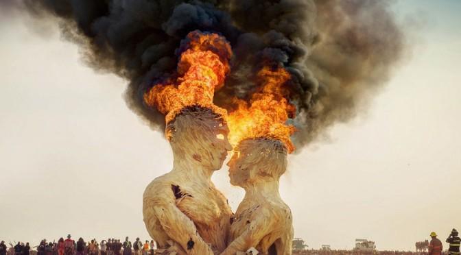 Burning Man 2014 • Fot Imgur