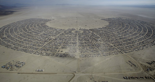 Miasteczko Burning Man 2015 Foto: Jim Urquhart / Reuters
