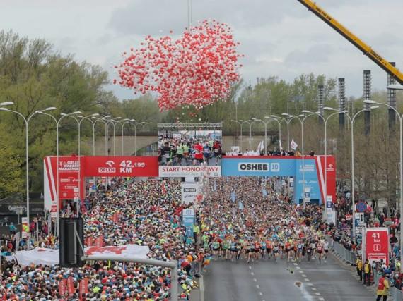 Narodowe Święto Biegania czyli Orlen Warsaw Maraton 2016