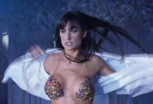 Demi Moore w Striptease
