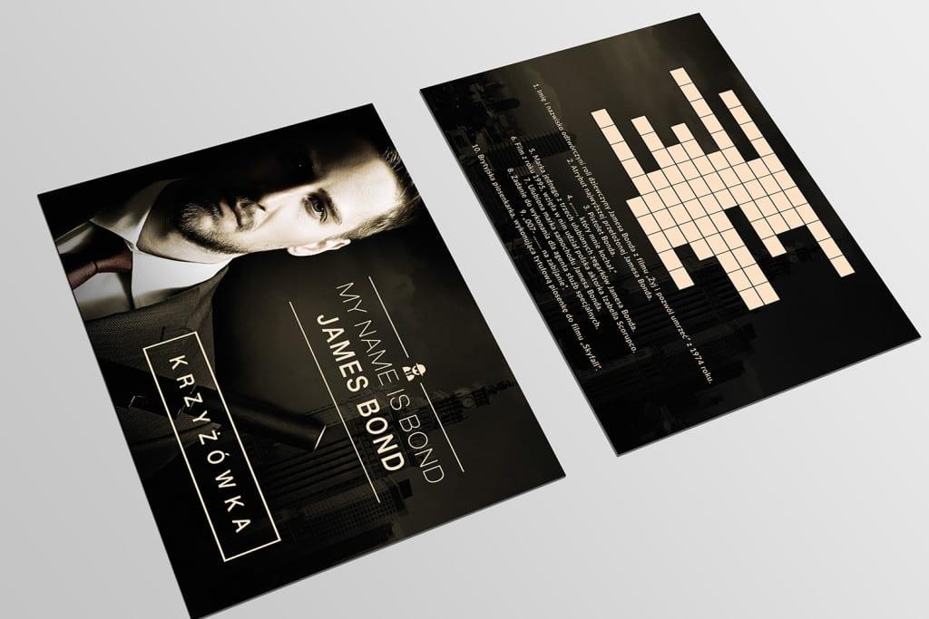 Krzyżówka - Jamesa Bonda