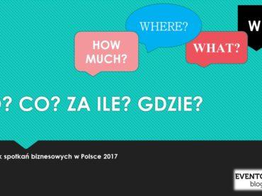 Przemysł spotkań w Polsce. Kto, co, za ile i gdzie?