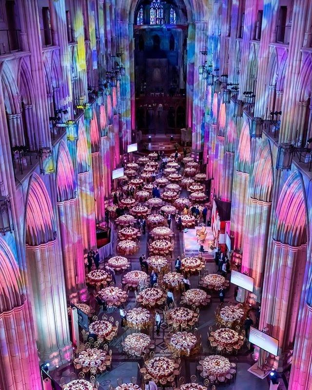 Gala w Katedrze w Waszyngtonie