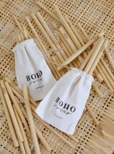 słomki bambusowe